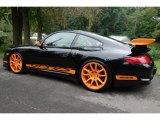 2008 Porsche 911 Black/Orange