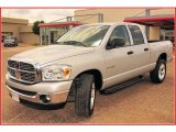 2008 Bright Silver Metallic Dodge Ram 1500 Lone Star Edition Quad Cab #9632114