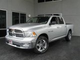 2009 Bright Silver Metallic Dodge Ram 1500 Big Horn Edition Crew Cab #9748603