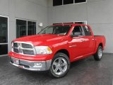 2009 Flame Red Dodge Ram 1500 Big Horn Edition Crew Cab #9748609