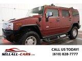 2003 Red Metallic Hummer H2 SUV #97863407