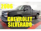 2006 Black Chevrolet Silverado 1500 Work Truck Regular Cab #97863405