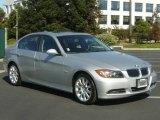 2006 Titanium Silver Metallic BMW 3 Series 330i Sedan #963416