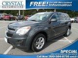 2010 Cyber Gray Metallic Chevrolet Equinox LS #97863938
