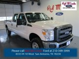 2015 Oxford White Ford F250 Super Duty XL Crew Cab 4x4 #97863568