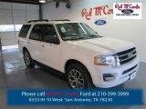 2015 White Platinum Metallic Tri-Coat Ford Expedition XLT #97863567