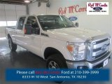 2015 Oxford White Ford F250 Super Duty XLT Crew Cab 4x4 #97863565