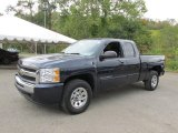 2011 Imperial Blue Metallic Chevrolet Silverado 1500 LS Extended Cab 4x4 #97863635