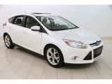 2012 White Platinum Tricoat Metallic Ford Focus SEL 5-Door #97863918