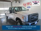 2015 Oxford White Ford F250 Super Duty XL Super Cab 4x4 #97911858