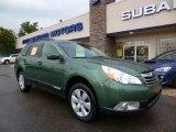 2012 Cypress Green Pearl Subaru Outback 2.5i Premium #97912059