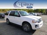 2015 White Platinum Metallic Tri-Coat Ford Expedition XLT 4x4 #97911925