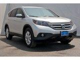 2014 Alabaster Silver Metallic Honda CR-V EX-L #97930108