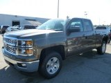 2015 Brownstone Metallic Chevrolet Silverado 1500 LT Double Cab 4x4 #97937636