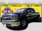 2014 Tungsten Metallic Chevrolet Silverado 1500 WT Crew Cab #97937485