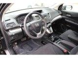 2012 Honda CR-V EX 4WD Black Interior