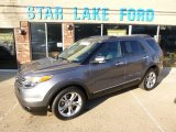 2014 Sterling Gray Ford Explorer Limited 4WD #97937849