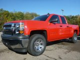 2015 Victory Red Chevrolet Silverado 1500 WT Double Cab 4x4 #97937640
