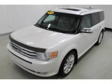 2010 White Platinum Tri-Coat Metallic Ford Flex Limited #97937445
