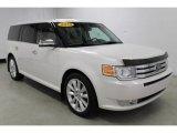 2010 Ford Flex White Platinum Tri-Coat Metallic