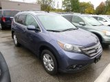 2012 Twilight Blue Metallic Honda CR-V EX-L 4WD #97937909