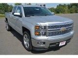 2015 Silver Ice Metallic Chevrolet Silverado 1500 LT Double Cab #97971716