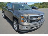 2014 Brownstone Metallic Chevrolet Silverado 1500 LT Crew Cab #97971707