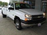 2005 Summit White Chevrolet Silverado 3500 LS Crew Cab 4x4 Dually #97971857