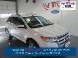 2014 White Platinum Ford Edge Limited #97971380