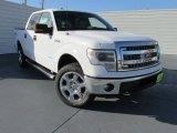 2014 Oxford White Ford F150 XLT SuperCrew 4x4 #97971535