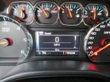 2015 Chevrolet Silverado 1500 LT Double Cab 4x4 Gauges