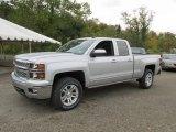 2015 Silver Ice Metallic Chevrolet Silverado 1500 LT Double Cab 4x4 #97971432