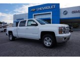 Summit White Chevrolet Silverado 1500 in 2015