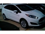 2015 Oxford White Ford Fiesta SE Hatchback #97971417