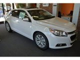 2015 Summit White Chevrolet Malibu LT #97971735
