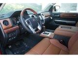 2015 Toyota Tundra 1794 Edition CrewMax 4x4 1794 Edition Premium Brown Leather Interior