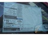 2015 Toyota Tundra 1794 Edition CrewMax 4x4 Window Sticker