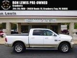 2014 Bright White Ram 1500 Laramie Longhorn Crew Cab 4x4 #98016789