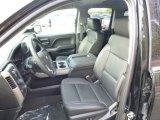 2015 Chevrolet Silverado 1500 LTZ Double Cab 4x4 Jet Black Interior