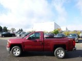 2015 Deep Ruby Metallic Chevrolet Silverado 1500 LT Regular Cab 4x4 #98017145