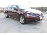 2014 Opera Red Metallic Volkswagen Passat 2.5L SE #98017121