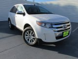2014 White Platinum Ford Edge SEL #98016919