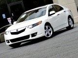 2009 Premium White Pearl Acura TSX Sedan #98016909