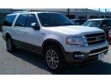 2015 White Platinum Metallic Tri-Coat Ford Expedition EL King Ranch #98053381
