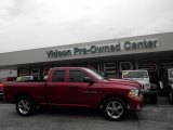 2012 Deep Cherry Red Crystal Pearl Dodge Ram 1500 ST Quad Cab 4x4 #98053853