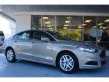 2015 Tectonic Silver Metallic Ford Fusion SE #98053516
