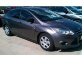 2014 Sterling Gray Ford Focus S Sedan #98053366