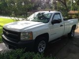 2008 Summit White Chevrolet Silverado 1500 LS Regular Cab #98093204