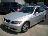 2006 Titanium Silver Metallic BMW 3 Series 325xi Sedan #9704352