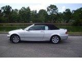 2006 Titanium Silver Metallic BMW 3 Series 325i Convertible #9336613